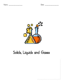 A Solids, Liquids and Gases Test