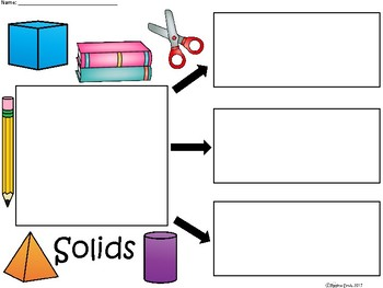 A+ Solids (State of Matter) ...Three Graphic Organizers