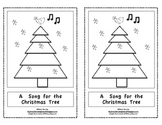A Song For the Christmas Tree-Kindergarten Emergent Reader