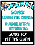 Song for Quadrilateral Attributes