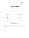 A Song for Abby - String Trio w/ Flexible Instrumentation