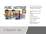 A Song for -ng:  Activities and Centers for -ng