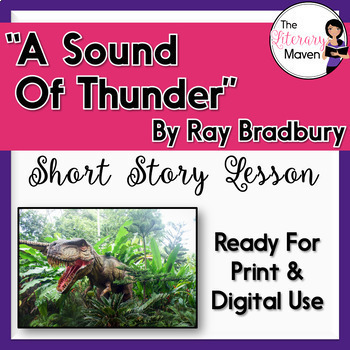 A Sound Of Thunder By Ray Bradbury Focus On Writer S border=