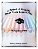 A Sound of Thunder Ray Bradbury Lesson Plan, Worksheets, K