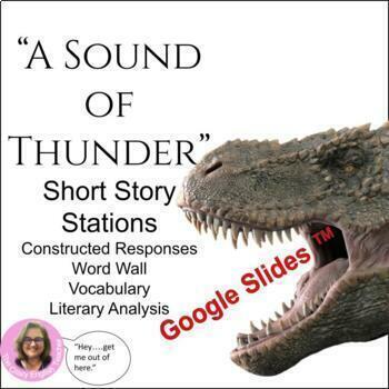 """A Sound of Thunder"" Short Story Unit: CCSS"