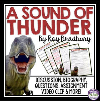 A SOUND OF THUNDER BY RAY BRADBURY