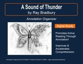 """Sound of Thunder"" by Ray Bradbury: Annotation Organizer"