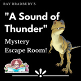 A Sound of Thunder by Ray Bradbury Mystery Escape Puzzle B