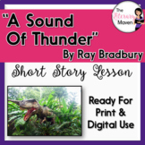 A Sound of Thunder by Ray Bradbury with Adapted Text - Pri