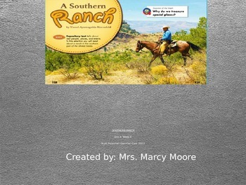 """""""A Southern Ranch"""" (Instructional Guide for Reading Street 2013)"""