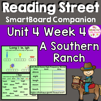 A Southern Ranch SmartBoard Companion Common Core 1st Grade