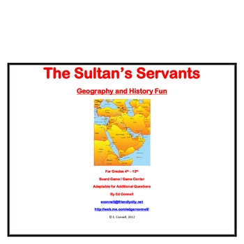 A Southwest Asia / Middle East Board Game
