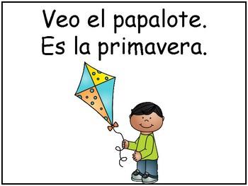 A+ Spanish Easy Reader...Es La Primavera
