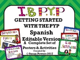 A Spanish Getting Started Kit for the IB PYP Editable