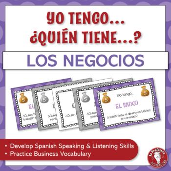 A Spanish Speaking Activity: Yo tengo, ¿Quién tiene? - La economía