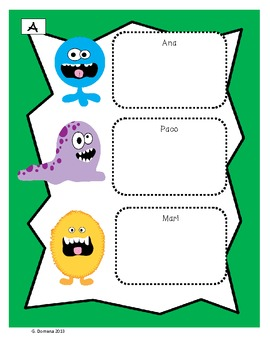 A Spanish Speaking/Listening Activity with Clothing (La Ropa)