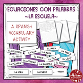 A Spanish Vocabulary Activity: Word Math - La Escuela | School