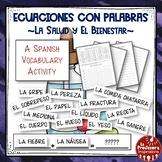 A Spanish Vocabulary Activity: Word Math - La salud   Health