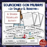 A Spanish Vocabulary Activity: Word Math - La salud y el b