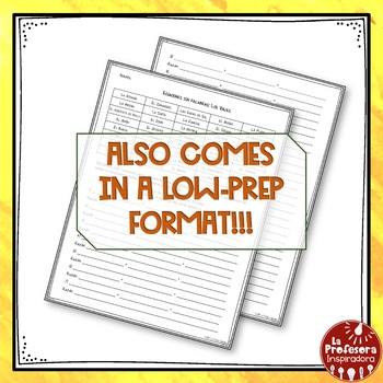 A Spanish Vocabulary Activity: Word Math - Los viajes   Travel and Vacations