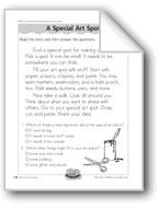 A Special Art Spot (Lois Ehlert/Literature)