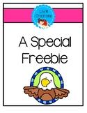 A Special Freebie