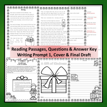 "CCSS ""A Special Gift Giving for the Holidays"" Writing Assignment"