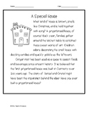 A Special House Reading Comprehension Passage and Questions