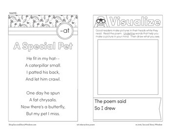 A Special Pet - at Word Family Poem of the Week