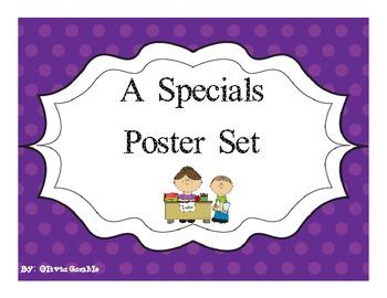 A Specials Poster Set