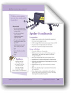 A Spider Is Not an Insect: Art and Cooking Activities
