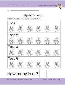 A Spider Is Not an Insect!: Center Activity