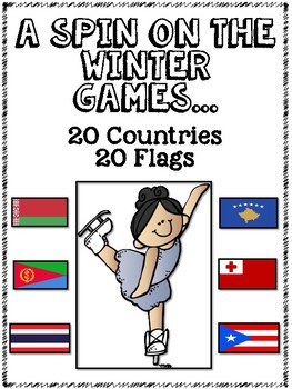 A Spin on the Winter Games...20 Countries, 20 Flags