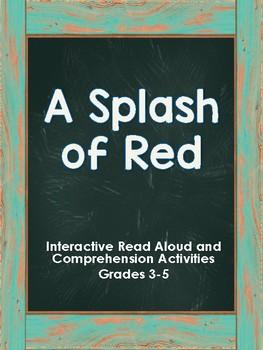 A Splash of Red Worksheets