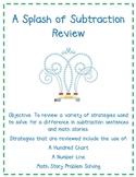 A Splash of Subtraction Review