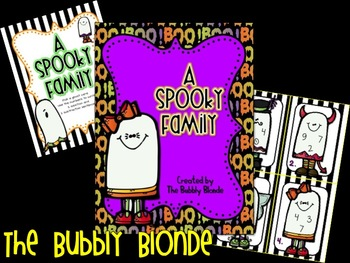 A Spooky Family~ Math Fact Family Center {Freebie!}