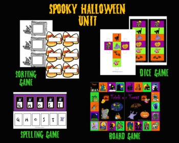 A Spooky Halloween Speech Therapy Bundle