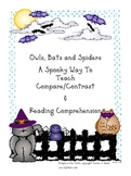 A Spooky Way to Teach Compare/Contrast/Comprehension:  Bat