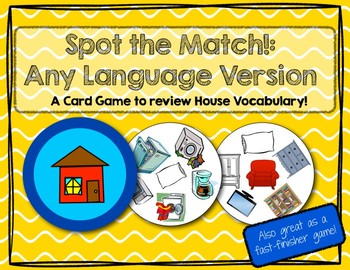 Awesome Spot The Match Game For House Furniture Vocabulary Works In Any Language Esl Home Interior And Landscaping Ologienasavecom
