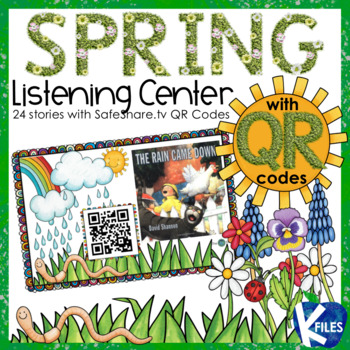 A Spring Listening Center with SafeShare.tv QR Codes and Links