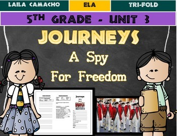 Journeys Grade 5 Trifold (A Spy for Freedom)