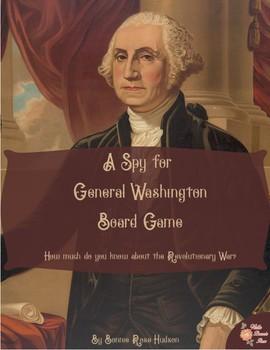 A Spy for General Washington Board Game