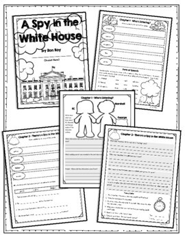 A Spy in the White House by Ron Roy, Guided Reading N, Student Packet