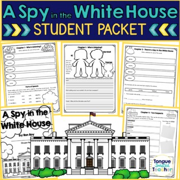A Spy in the White House by Ron Roy, Guided Reading N, Stu