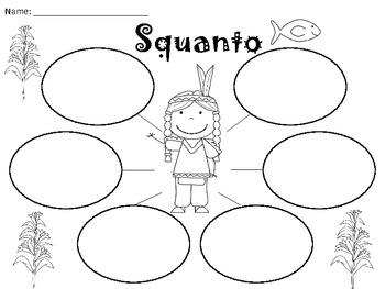 A+ Squanto: Graphic Organizers