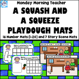 A Squash and a Squeeze Playdough Mat Activities, Numbers 1