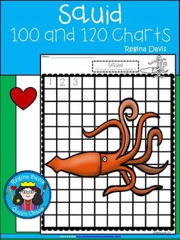 A+ Squid: Numbers 100 and 120 Chart