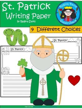 A+ St. Patrick ... Writing Paper