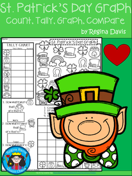 A+ St. Patrick's Day Leprechaun: Count, Tally, Graph, and Compare