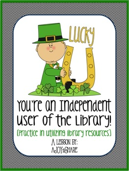 A St. Patrick's Day Library Lesson: Lucky You!